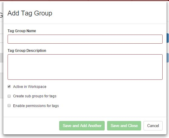 add tag group