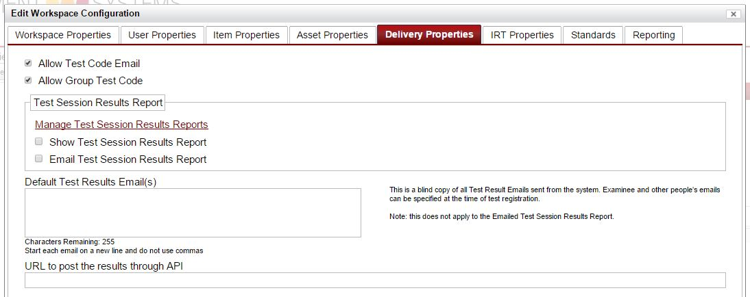 delivery properties