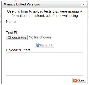 manage edited versions